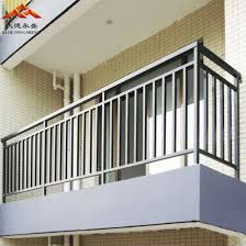 China Powder Coated Aluminum Wrought Iron Galvanzied Steel Stainless Steel Balcony And Stairs Fence Handrail Railing For Satey And Docrative China Railing Handrail