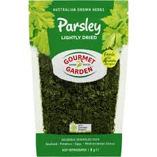 gourmet garden parsley lightly dried