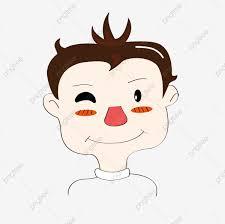 الكتابة على الجدران طفل مضحك كارتون الشرير ولد مرسومة باليد رجل