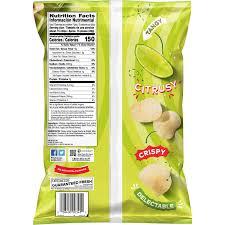 potato chips limon flavor 9 5 oz bag