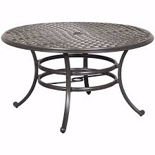 halston 53 round patio table ld7289a
