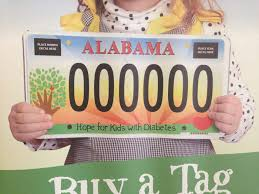 New Car Tag To Fight Childhood Diabetes Unveiled