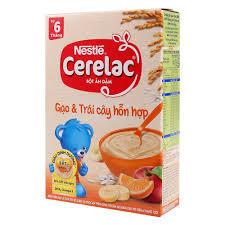 Bột Ăn Dặm Dinh Dưỡng Nestlé Cerelac Gạo & Trái Cây Hỗn Hợp Hộp ...