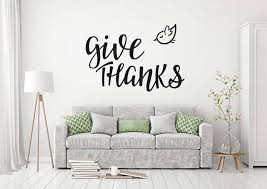 Buy In Everything Give Thanks Wall Decal 1 Thessalonians 5 18 Bible Scripture Religious Wall Decor Quote For Home Wall Art Sticker Sayings In Cheap Price On Alibaba Com