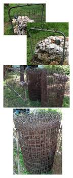 Wire Fence For Backyard Of 1920 Bungalow