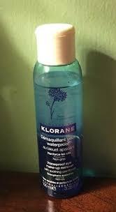 klorane waterproof eye make up remover