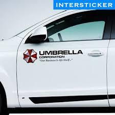 Car Sticker By Inthesticker Umbrella Corporation Resident Evil Movie Resident Evil