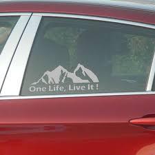One Life Live It Mountain Car Window Van Vw Vag Euro Vinyl Decal Sticker Archives Statelegals Staradvertiser Com
