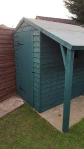 Sage Colour Shed By Cuprinol Shades Garden Front Of House Sage Garden Shed Paint Colours