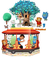 Daniel Tiger S Neighborhood Wall Decal And Stand In Combo Pack Schoolvite