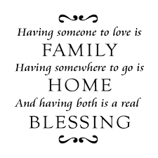 Family Home Blessing Goudy Wall Quotes Decal Wallquotes Com