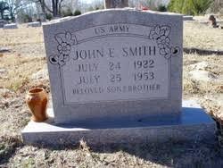 John Elva Smith (1922-1953) - Find A Grave Memorial