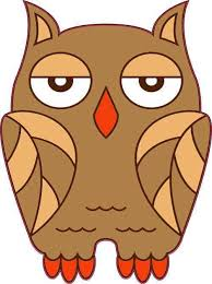 3in X 4in Brown Owl Sticker Vinyl Car Window Decal Cup Tumbler Stickers Stickertalk