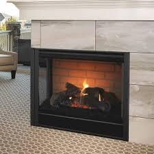 corner direct vent gas fireplace