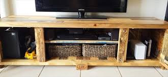 pallet coffee table with matching tv