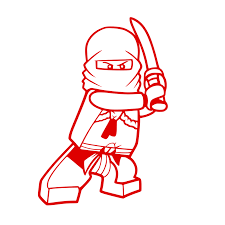 Lego Ninja Red | Lego coloring pages, Ninjago coloring pages, Lego ...