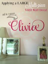 How To Hang A Large Vinyl Wall Decal Silhouette Tutorial Part 2 Of 2 Silhouette School