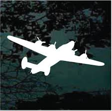 B24 Liberator Aircraft Decals Car Window Stickers Decal Junky