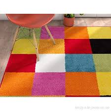 Well Woven Modern Rug Squares Multi Geometric Accent 3 3 X 5 Area Rug Entry Way