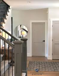 entryway with benjamin moore edgecomb