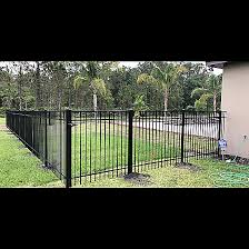 Quality Aluminum Fence Volusia County Sun Coast Fence Supply
