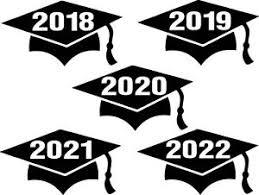 5 Inch Graduation Cap Decal Grad Year School Graduate Window Sticker Car Decor Ebay