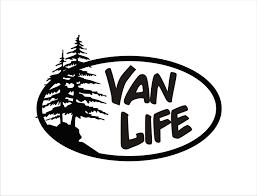 Van Life Vinyl Decal Van Life Van Life Sticker Van Life Decal Van Life Gear Overland Decal Overland Sticker Overland Van Decal