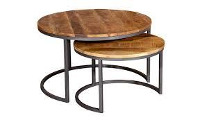 savannah round coffee table set