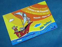 Tarjetas Invitaciones Cumpleanos Infantil Animales Playa 22 00