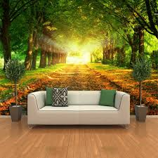 Easy Wall Mural Ideas Giant Murals Bedroom Diy Wallpaper Cheap Independence