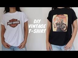 Diy Custom Print T Shirts No Transfer Paper Youtube