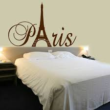 Paris Tower Girls Room Wall Decal Home Decor Vinyl Lettering Wall Saying Sticker Paris Room Decor Paris Themed Bedroom Paris Bedroom