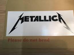 Metallica Vinyl Decal Sticker Pop Band Rock N Roll Music Car Window Laptop Gm Decals
