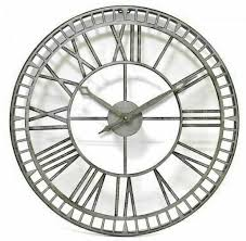 garden wall clock large order now for