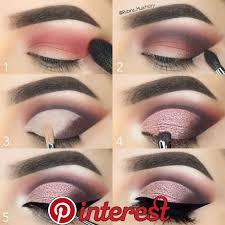beautiful neautral pink eye makeup