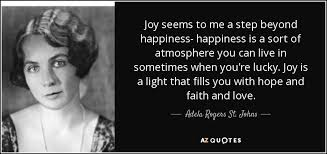 TOP 13 QUOTES BY ADELA ROGERS ST. JOHNS | A-Z Quotes