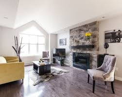 houzz fireplaces living room modern