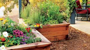 Raised Box Herb Garden Sunset Magazine