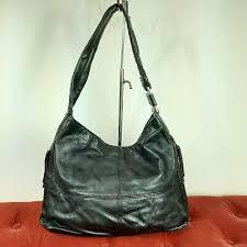 tignanello black pebble leather