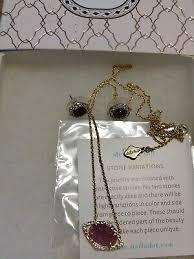 earrings necklace lilac druzy