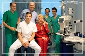 Ivana Trump had eye surgery in Croatia