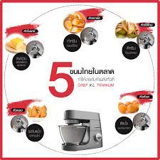 5 ขนมไทยในตลาด ทำได้ง่ายกับ 5 พลังหัวตี