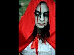 makeup red riding hood