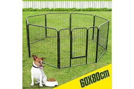 Pet Dog Enclosure Fence With 8 Panels Kogan Com