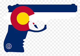 Gun Decals Colorado State Flag Auto Decals Colorado Flag And Guns Hd Png Download Vhv
