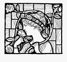 church stained glass drawing