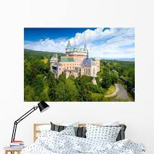 Bojnice Castle Slovakia Wall Decal Wallmonkeys Com