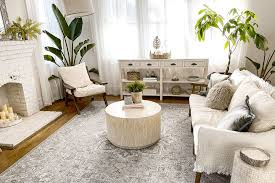 the right rug size for your living room