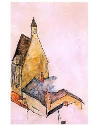 Amazing Savings On Egon Schiele Spitalskirche Molding 18 X27 Wall Decal