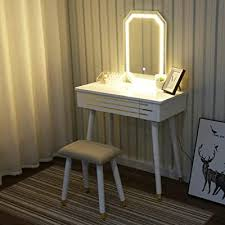 touch screen adjustable lighted mirror